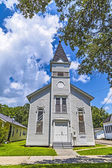 St. Johns Lutheran Church in Lake Charles — Stock Photo