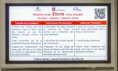 advice for travellers  how to react to avoid EBOLA — Stock Photo