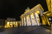 Brandenburg Gate (Brandenburger Tor) in Berlin — Stock Photo
