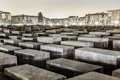 Holocaust Memorial in Berlin, Germany. — Stock Photo