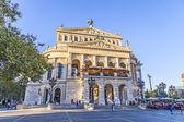 Alte Oper in Frankfurt — Stock Photo