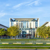 German Chancellery  is a federal agency serving the executive of — Stock Photo