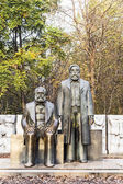 Marx-Engels-Monument in Germany Berlin  — Foto de Stock