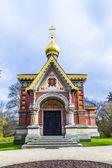 Cappella ortodossa nel parco — Foto Stock