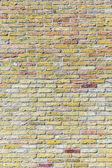 Old harmonic brick wall background   — Stock Photo