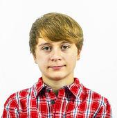 Дружественные перспективных молодой мальчик — Стоковое фото