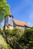Famous old church in Osterheide — Stock fotografie