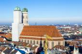 Church of our lady in Munich — Stock Photo