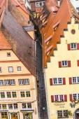 Aerial of  Rothenburg ob der Tauber — Stock Photo