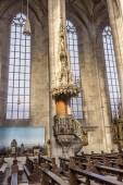 Inside St. George's Minster in Dinkelsbuehl — Stock Photo
