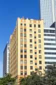 Historic skyscraper in downtown Miami historic district — Stock Photo