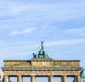 Berlin brandenburg kapısı (brandenburger tor — Stok fotoğraf