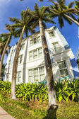 Day view at Ocean drive in Miami — Stock Photo