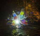 Event Winterlichter  in the Palmgarden  — Stock Photo