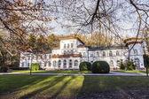 Kurhaus com cénico Parque em Bad Soden — Fotografia Stock