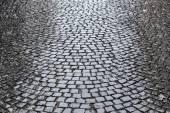 булыжником дорога — Стоковое фото