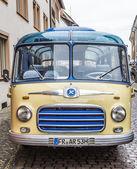 Old vintage bus Setra S6 in Freiburg — Stock Photo