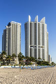 Sunny Isles Beach is a city located in Miami County, Florida — Stock Photo
