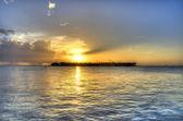 Sunset at Key West — Stock Photo