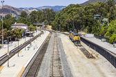 Train at the train station from San Luis Obispo — Foto de Stock