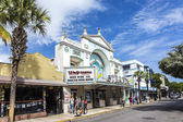 Cinema theater Strand in Key West — Stock Photo