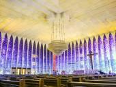 The Santuario Dom Bosco — Stockfoto
