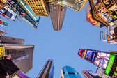 Times Square, featured with Broadway Theaters and huge number o — Stock Photo