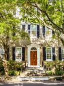 White Southern Mansion  — Stock Photo