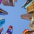 Times Square, featured with Broadway Theaters and huge number o — Stock Photo #64551861