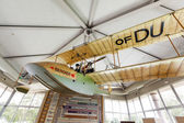Replica of aircraft of Benoist in the museum in Saint Petersburg — Stock Photo