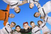 Torneo di calcio gioco bambini E-Class — Foto Stock