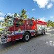 Fire brigade on duty in South Beach in Miami — Stock Photo #65106583
