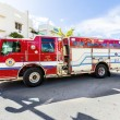 Fire brigade on duty in South Beach in Miami — Stock Photo #65109887