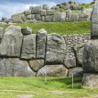 Sacsayhuaman, Incas ruins in the peruvian Andes at Cuzco Peru — Stock Photo #65554155