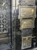Tomb of Eva Peron, Evita, the famous first lady of Argentina — Zdjęcie stockowe