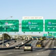 Постер, плакат: Driving the Miami Highway from the airport direction East