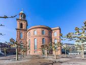 Paulskirche, berühmte Kirche in Frankfurt (Deutschland) — Stockfoto
