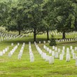 Headstones at the Arlington national Cemetery — Stock Photo #66858093