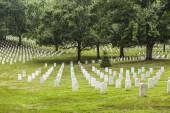Nagrobków na narodowy cmentarz w arlington — Zdjęcie stockowe