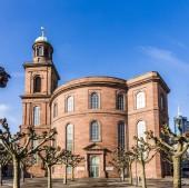 Paulskirche, famous Church in Frankfurt  — Φωτογραφία Αρχείου