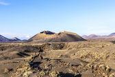 Volcano Montana Colorada in Lanzarote, Tinajo — Stock Photo