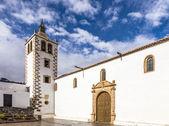 Torre da Igreja de Santa Maria de Betancuria, aldeia de Betancuria, F — Fotografia Stock