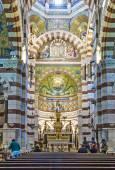 Notre-Dame de la Garde Interior in Marseilles — Fotografia Stock