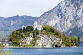 Johannesberg-chapel in Upper Austria in Traunkirchen — Stock Photo