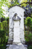 Last Resting Place of composer Brahms at the Vienna Central Ceme — Foto Stock