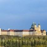 Convent Melk at river Danube in Lower Austria — Stock Photo #72954561