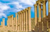 Ancient city of Palmyra — Stock Photo