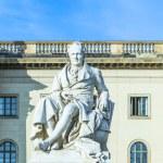 Statue of Wilhelm von Humboldt in Berlin — Stock Photo #74040315