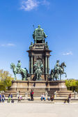 Maria Theresia monument in front of the Kunsthistorisches museum — Stock Photo