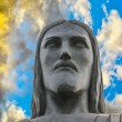 The Christ the Redeemer statue in detail — Stock Photo #75850171